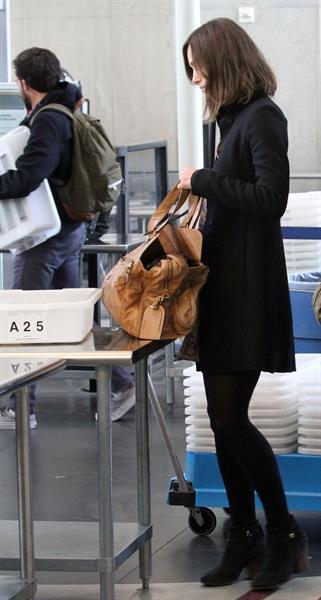 Keira Knightley At LAX Airport - November 10, 2012