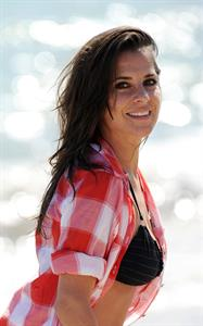 Kelly Monaco during the Dancing With The Stars Beach Party in Malibu, USA on July 28, 2012