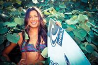 Malia Manuel in a bikini