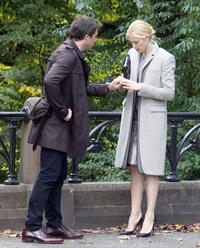 Kelly Rutherford - On the set of Gossip Girl in New York - September 10, 2012