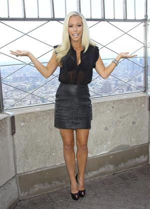 Kendra Wilkinson -  Kendra on Top  Promotion in New York  -  6 June, 2012