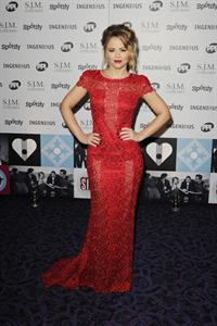 Kimberley Walsh Music Industry Awards, London - November 5, 2012