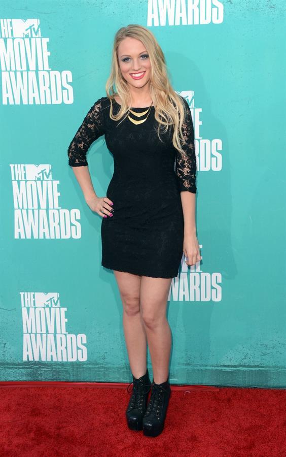 Kirby Bliss Blanton - 2012 MTV Movie Awards (Arrival) in Universal City (June 3, 2012)