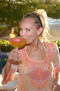 Kristin Chenoweth returns to her favorite vacation spot, The St. Regis Punta Mita Resort in Mexico April 13, 2013