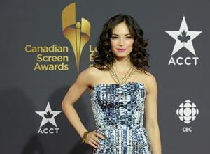 Kristin Kreuk Canadian Screen Awards in Toronto 3/3/13
