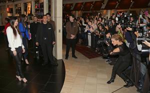 Kylie Jenner hosts 1st fan meet and greet at Kardashian Khaos in Vegas 12/15/12