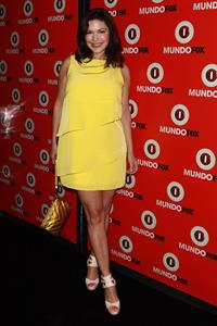 Laura Harring Mundo FOX Launch Party: Let's Make History Together! (Aug 9, 2012)