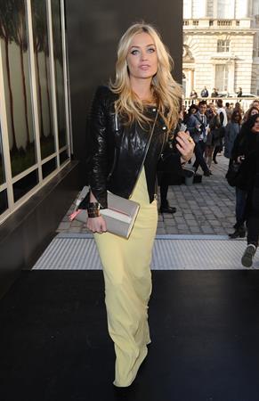 Laura Whitmore London Fashion Week, Feb 19, 2013