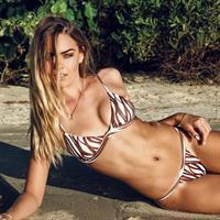 Karri Nicholas in a bikini