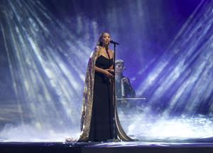 Leona Lewis Art On Ice show in Helsinki, Feb 9, 2013