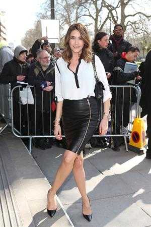 Lisa Snowdon TRIC Awards, London, March 12, 2013