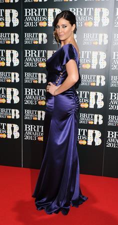 Lisa Snowdon BRIT Awards, Feb 20, 2013