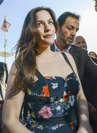 Liv Tyler Leaves the La Mandala Beach Club in Cannes on May 17, 2013