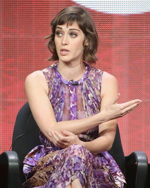 Lizzy Caplan 2013 Summer TCA Tour - Day 7, July 30, 2013