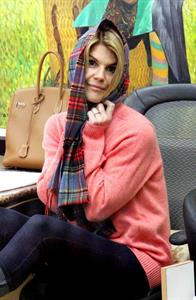 Lori Loughlin at a salon in Beverly Hills 1/28/13