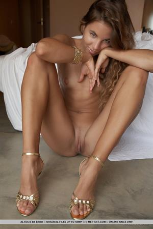Altea B in  Zlato  for MetArt - Altea B shows off her luscious warm skim and round breasts