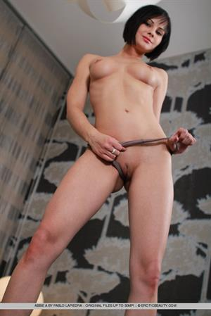 Abbie A in  Built  for Erotic Beauty