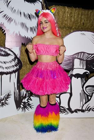 Lucy Hale 2012 Just Jared Halloween party in Hollywood 10/27/12
