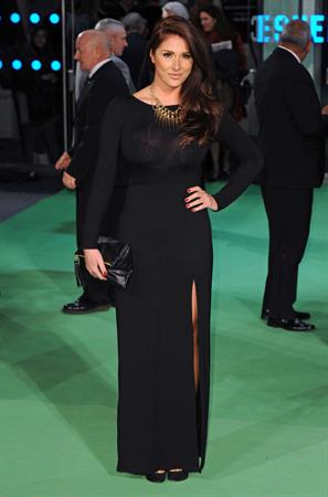 Lucy Pinder Premiere 'The Hobbit' in London 12.12.12
