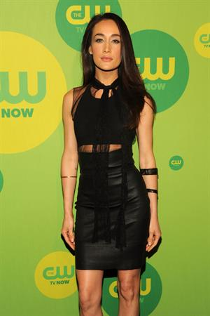 Maggie Q Attends the CW's Upfront presentation at New York City Center in New York City (16.05.2013)