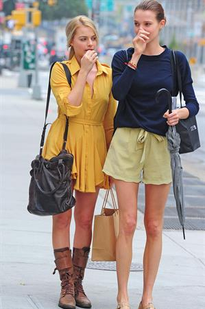Margot Robbie - out in Soho NYC October 3, 2012