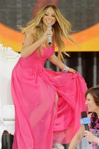Mariah Carey Good Morning America Summer Concert Series Kick-Off (May 24, 2013)