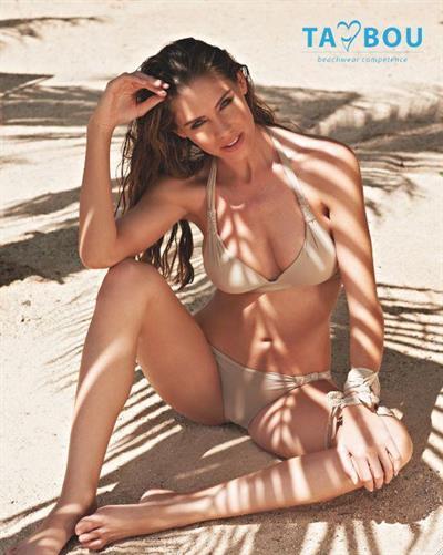 Brittany Oldehoff in a bikini