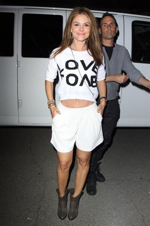 Maria Menounos Arriving to the New Carnival after Coachella Music Festival in Indio on April 13, 2013