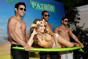 Maria Menounos at her C. Wonder & Patron Tequila sponsored birthday party in LA 6/8/13