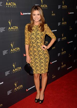 Maria Menounos 2nd AACTA International Awards in West Hollywood 1/26/13