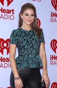 Maria Menounos IHeartRadio music fest(day 2) in Las Vegas on September 22, 2012