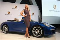 Maria Sharapova unveiled as Porsche's new brand ambassador in Stuttgart 4/22/13