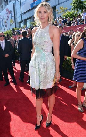 Maria Sharapova 43 ESPY Awards at the Nokia Theatre in Los Angeles on July 17, 2013