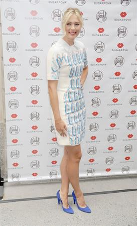 Maria Sharapova - Sugarpova Candy Launch In NY August 20, 2012