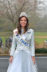 Marine Lorphelin Returns to her Hometown (Dec 19, 2012)