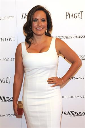 Mariska Hargitay  To Rome With Love  NYC screening 6/20/12