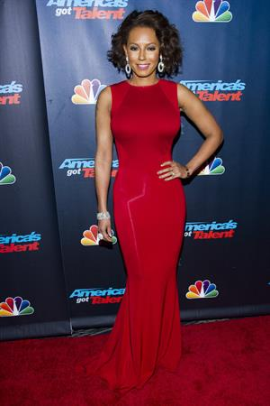 Melanie Brown  America's Got Talent  Season 8 Pre-Show Red Carpet Event - New York, Sep. 17, 2013