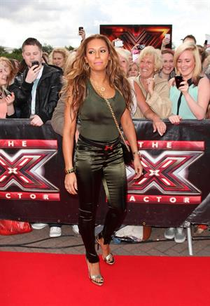 Melanie Brown (Mel B) - Red Carpet Arrivals For The X Factor Judges Auditions In Manchester (June 6, 2012)