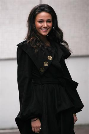 Michelle Keegan outside ITV Studios on December 3, 2010