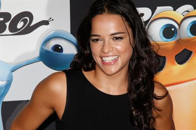 Michelle Rodriguez at the  Turbo  New York Premiere on July 9, 2013