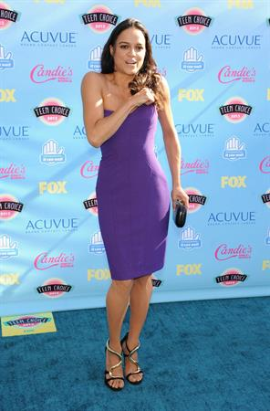 Michelle Rodriguez at the Teen Choice Awards 2013 in Universal City August 11, 2013