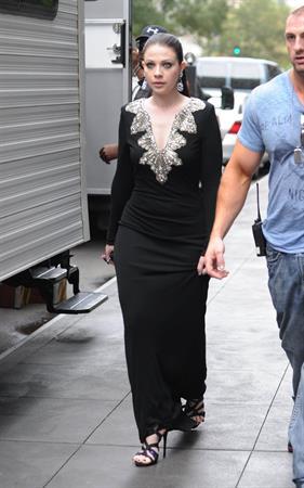 Michelle Trachtenberg - Gossip Girl set in New York City - August 21, 2012