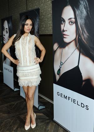 Mila Kunis The Launch Of Gemfields' New Brand Ambassador, Feb 19, 2013