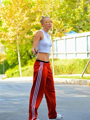 Miley Cyrus candids in Los Angeles 8/31/13