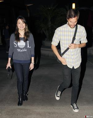 Miranda Cosgrove - At ArcLight Theatre in Hollywood - August 22, 2012