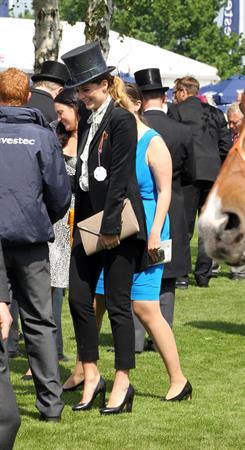 Mischa Barton - Epsom Derby in Epsom, England, June 2, 2012