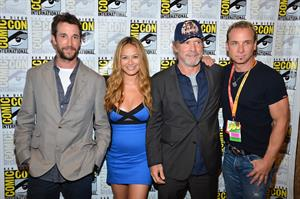 Moon Bloodgood -  Falling Skies  Press Room at Comic-Con 2012 in San Diego (July 13, 2012)