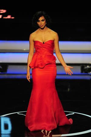 Morena Baccarin 2013 Laureus World Sports Awards in Rio, Brazil, March 11, 2013