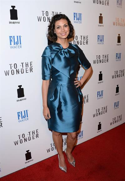 Morena Baccarin attends the Premiere of Magnolia Pictures' 'To The Wonder' at Pacific Design Center in Hollywood