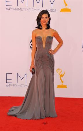 Morena Baccarin - 64th Primetime Emmys Nokia Theatre LA Sept 23, 2012